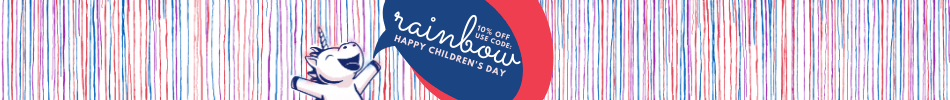 10% OFF WITH RAINBOW PROMO CODE