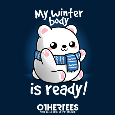 Polar bear winter body