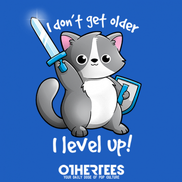 Level up cat