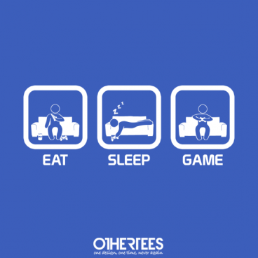Eat, Sleep, Game - Console