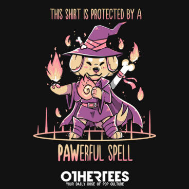 This Shirt is Protected by a PAWerful Spell