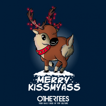 Reindeer Kiss My Ass