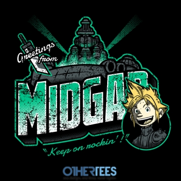 Greetings from Midgar