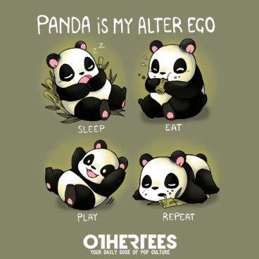 Panda is my alter ego