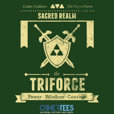 Sacred Realm Triforce