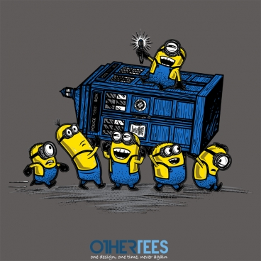 Minions have the Phonebox