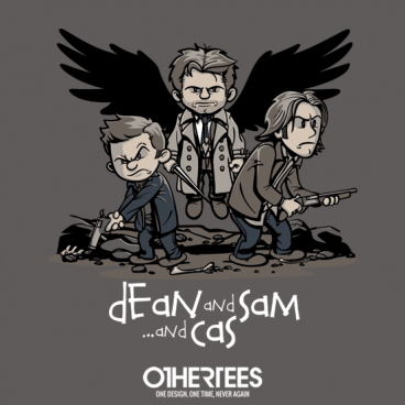 Dean and Sam and Cas