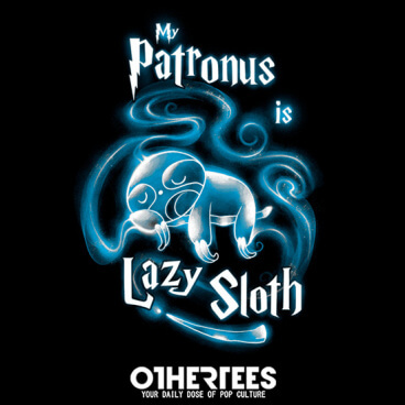 My Patronus is..Lazy Sloth