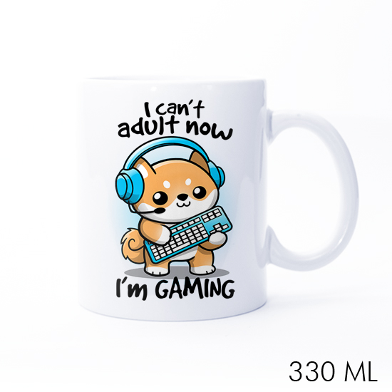Gamer Can't Adult